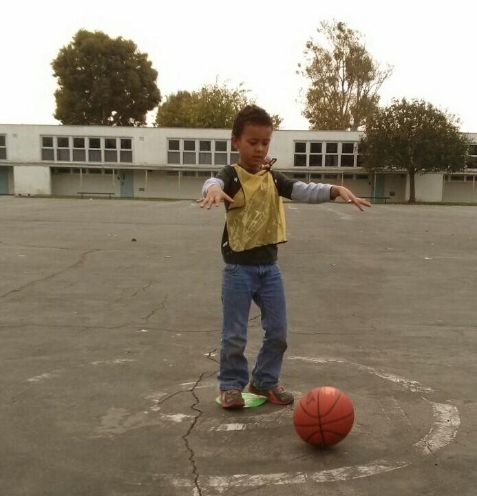 bouncing a ball