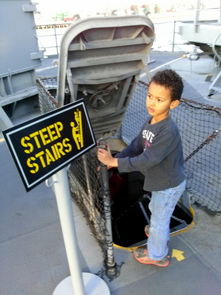uss iowa steps 2
